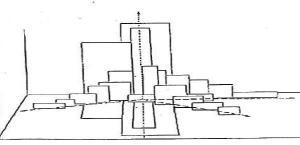 Compositie meerdere dieptelijnen
