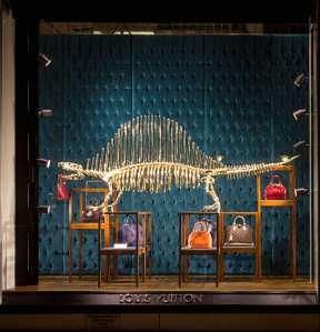Louis Vuitton-dinosaurus
