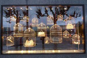 Louis Vuitton-vogelkooien
