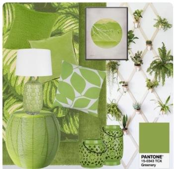 Interieur - Trend Greenery