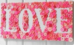 Valentijn love met knopen