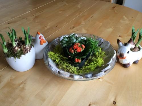 Lente decoratie