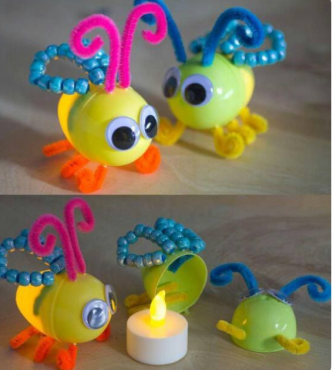Glow vliegje Kinder Surprise