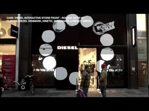 Diesel Interactieve etalage