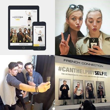 Etalage-selfies