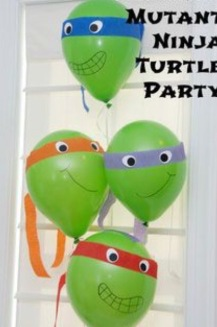Balonnen Ninja Turtels