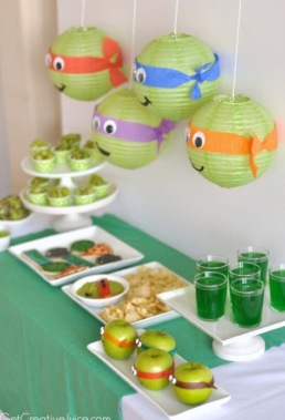 Decoratie Ninja Turtels