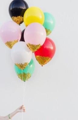 glitter balonnen