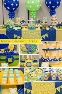 Decoratie Minions