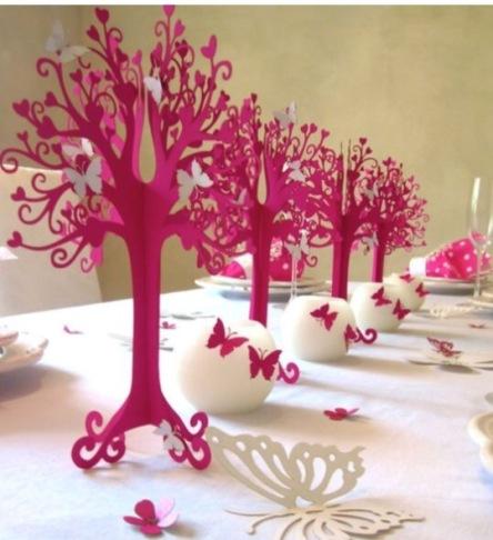 decoratie vlinderboom