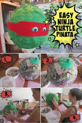 Pinata Ninja Turtels