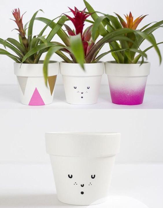 Moederdag Idee Bloempotten En Vazen Versieren Mode