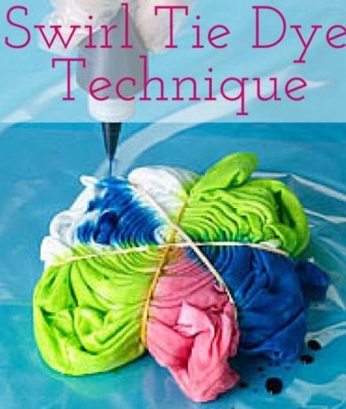 Swirl T-shirt stap 3