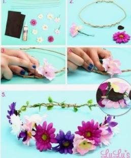 Festival bloemen haarband1