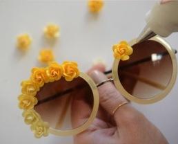 Festival flower zonnebril2
