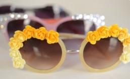Festival flower zonnebril3