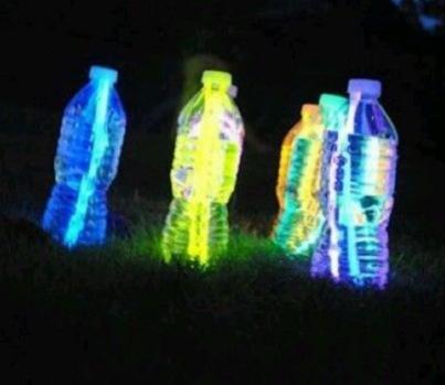 Glow stick flesje