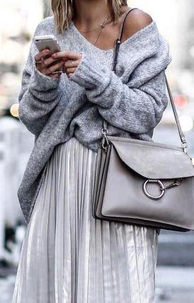 Fashion Neutral Gray Fall 2017