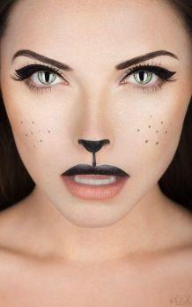 """Make up """"Valse kat"""""""