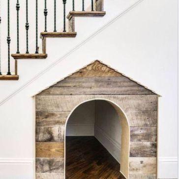 slim ! een slaap plekje onder de trap