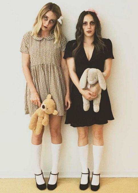 """Een schattige jurk en een teddybeer """"I see death people"""""""