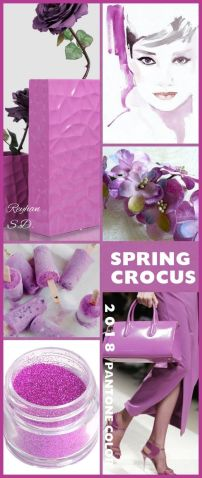 moodboard spring crocus lente-zomer 2018