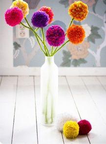 Pompon bloemen
