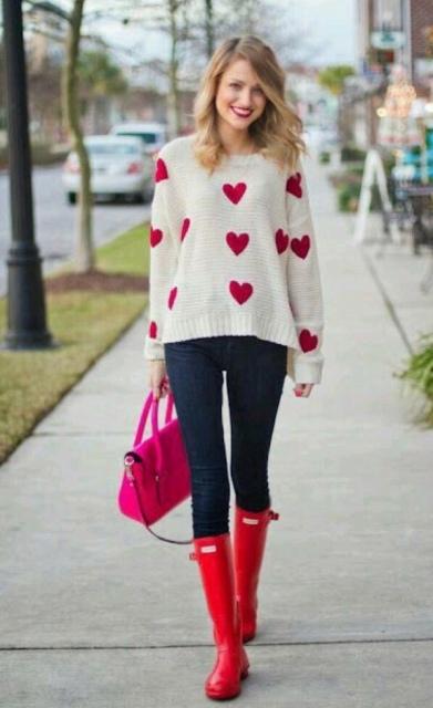 valentijn casual vrouw