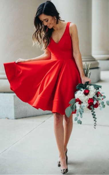 valentijn elegante jurk