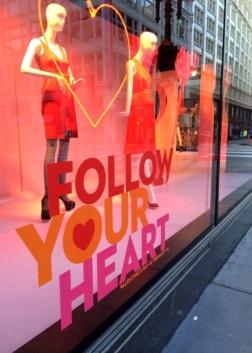 Macy's Valentine windowdisplay