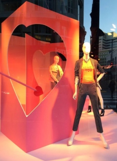 Macy's Valentine windowdisplay
