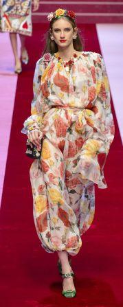 Fashion week 2018 Dolce Gabbana spring-summerjpg