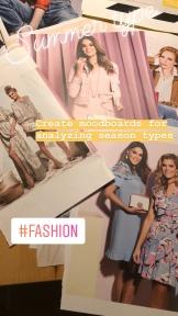 fashion moodboard zomertype