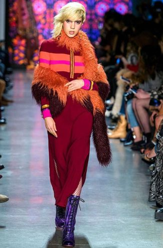 trend brede streep look fall-winter2018-19AnnaSui