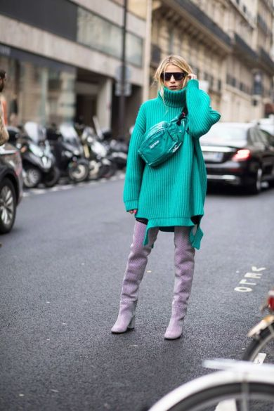 trend wide sweater look fall-winter2018-19@clothingnice