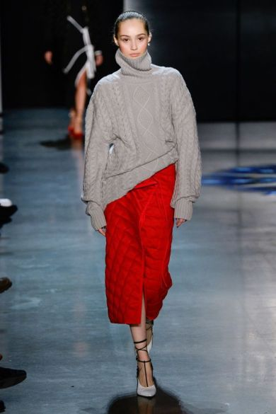 trend wide sweater look fall-winter2018-19@vogue